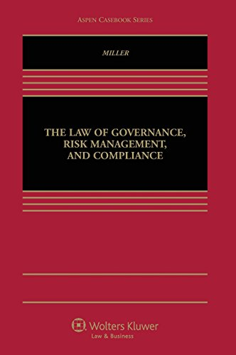 9781454845447: The Law of Governance, Risk Management, and Compliance
