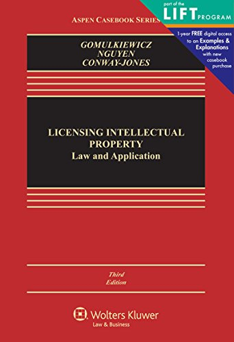 9781454847960: Licensing Intellectual Property: Law and Applications (Aspen Casebooks)