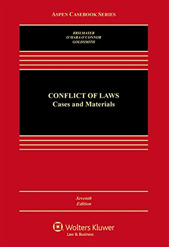 9781454849506: Conflicts of Law: Cases and Materials (Aspen Casebook)