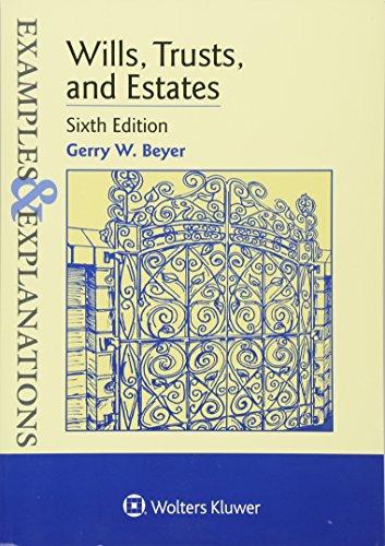 9781454850052: Wills, Trusts, and Estates