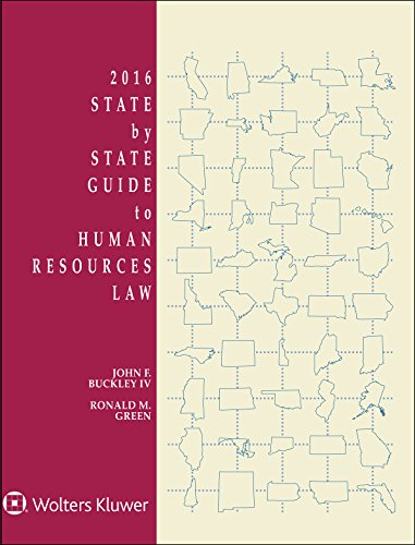 9781454855927: State By State Guide To Human Resources Law, 2016 Edition