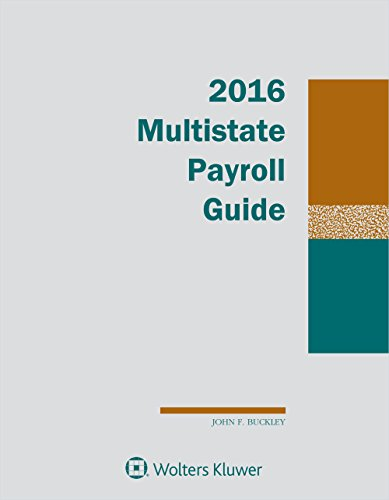 9781454856030: Multistate Payroll Guide, 2016 Edition