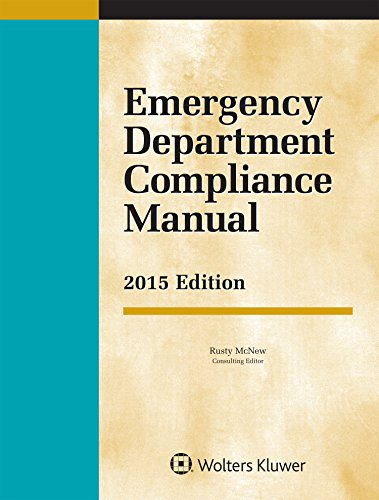 9781454856085: Emergency Department Compliance Manual