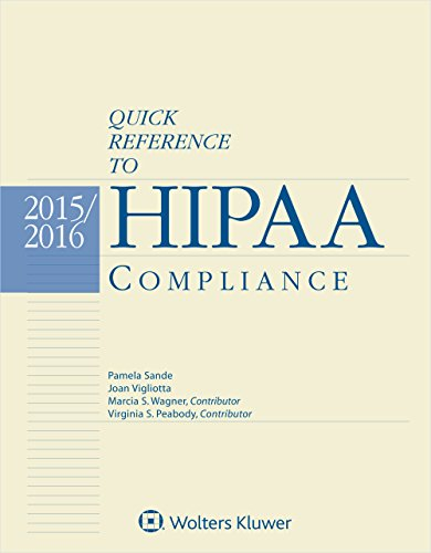 9781454856160: Quick Reference To HIPAA Compliance