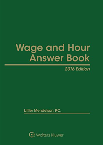 9781454856184: Wage & Hour Answer Book 2016
