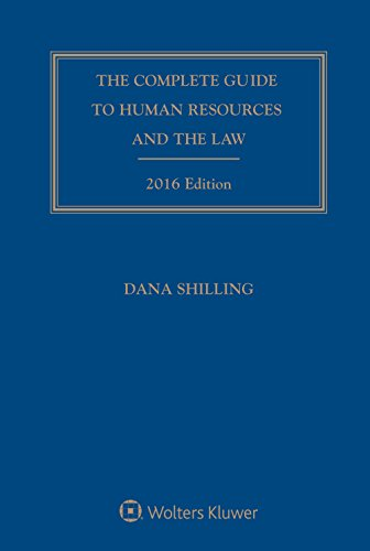 9781454856276: Complete Guide To Human Resources and the Law with CD, 2016 Edition