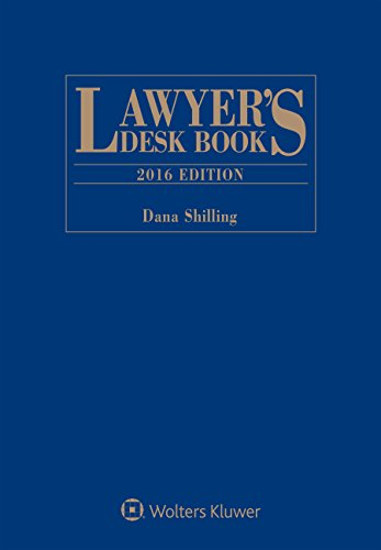 9781454857389: Lawyer's Desk Book: 2016 Edition