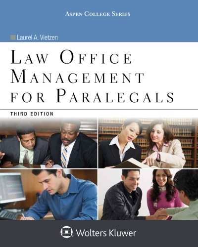 9781454859383: Law Office Management for Paralegals (Aspen College Series)