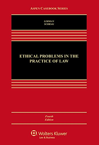 9781454863045: Ethical Problems in the Practice of Law (Aspen Casebook)