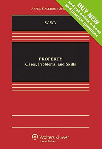 Property: Cases, Problems, and Skills (Hardback): Christine A Klein