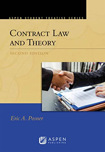 9781454869511: Contract Law and Theory (Aspen Student Treatise Series)
