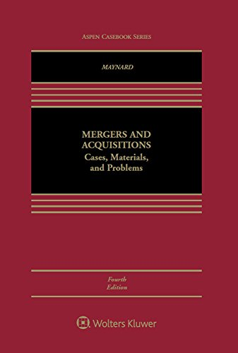 9781454871071: Mergers and Acquisitions: Cases, Materials, and Problems (Aspen Coursebook)