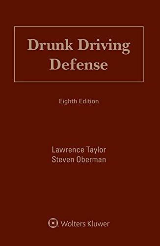 Drunk Driving Defense: Taylor, Lawrence; Oberman,