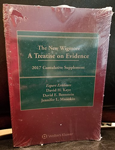 9781454871934: The New Wigmore: A Treatise on Evidence, 2017 Cumulative Supplement, Expert Evidence
