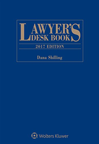 9781454872085: Lawyer's Desk Book: 2017 Edition