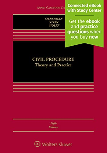 9781454875734: Civil Procedure: Theory and Practice (Aspen Casebook)