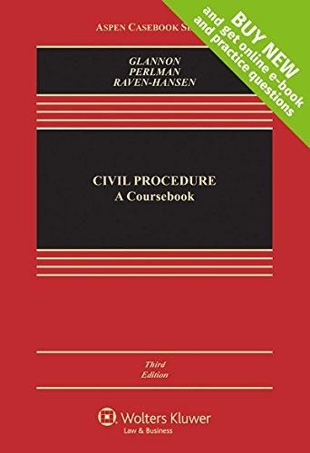 9781454881421: Civil Procedure: A Coursebook [Connected Casebook] (Aspen Casebook)