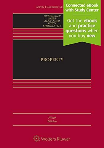 9781454881995: Property [Connected Casebook] (Aspen Casebook)