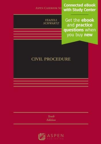 9781454897880: Civil Procedure [Connected Casebook] (Aspen Casebook)