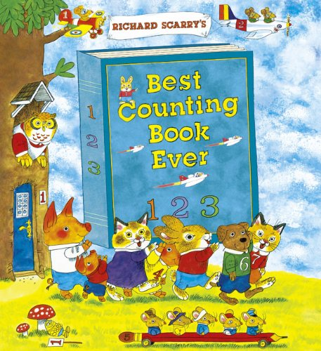 9781454903789: Richard Scarry's Best Counting Book Ever