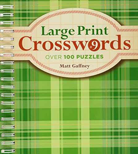 9781454904977: Large Print Crosswords #9