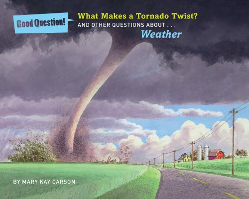 9781454906834: What Makes a Tornado Twist?: And Other Questions About Weather (Good Question!)