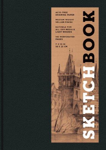 9781454909163: Sketchbook (Basic Medium Bound Black) (Sterling Sketchbooks)