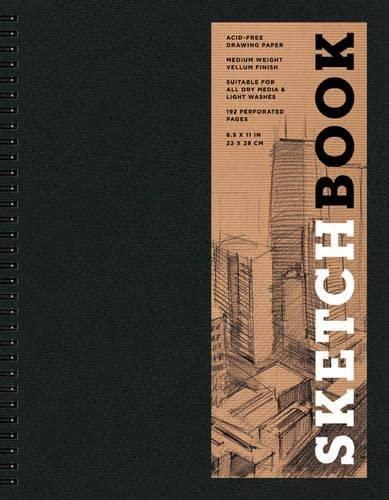 9781454909194: Sketchbook (Basic Large Spiral Black) (Sterling Sketchbooks)