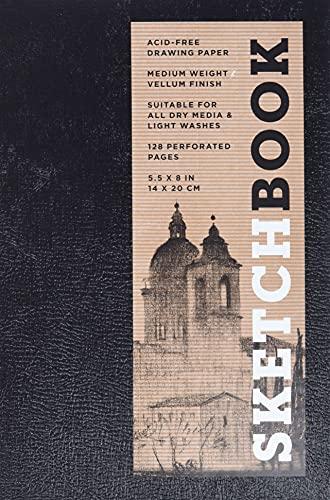 9781454909255: Sketchbook (Basic Small Spiral Black) (Sterling Sketchbooks)
