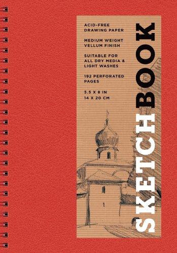 9781454909262: Sketchbook (Basic Small Spiral Red) (Sterling Sketchbooks)