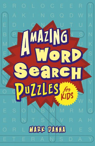 9781454909507: Amazing Word Search Puzzles for Kids