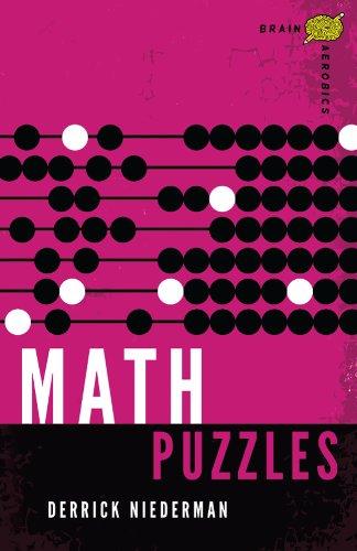 9781454909644: Brain Aerobics Math Puzzles