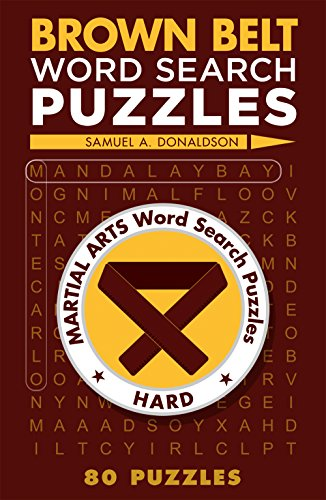 9781454912088: Brown Belt Word Search Puzzles (Martial Arts Puzzles Series)