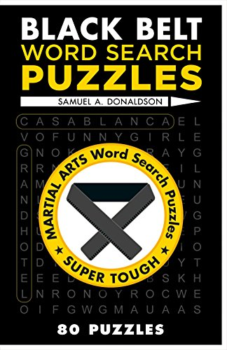 9781454912095: Black Belt Word Search Puzzles (Martial Arts Puzzles Series)