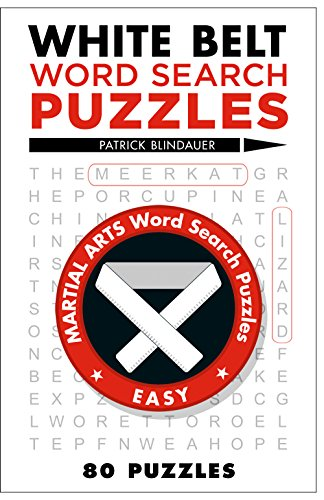 9781454912118: White Belt Word Search Puzzles (Martial Arts Puzzles Series)
