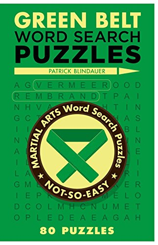 9781454912125: Green Belt Word Search Puzzles (Martial Arts Puzzles Series)