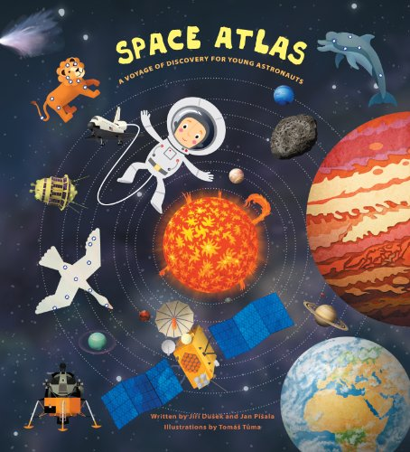 9781454912378: Space Atlas: A Voyage of Discovery for Young Astronauts
