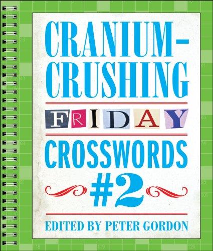 9781454914235: Cranium-Crushing Friday Crosswords #2