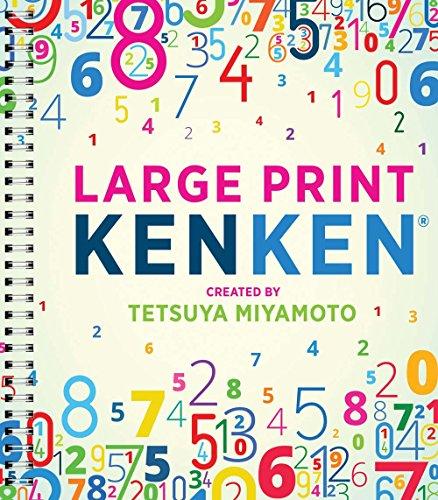 Large Print Kenken(r): Miyamoto, Tetsuya