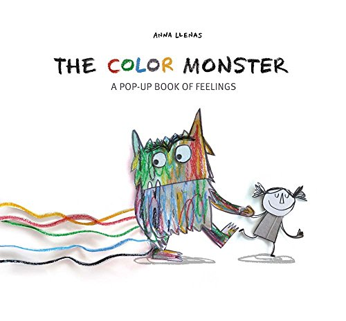 9781454917298: The Color Monster: A Pop-Up Book of Feelings