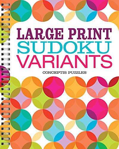Large Print Sudoku Variants: Puzzle Wright Press