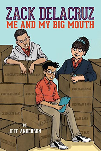 Me and My Big Mouth: Jeff Anderson, illustrated