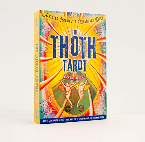 The Thoth Tarot Book and Cards Set: Cards by Aleister