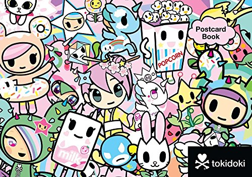 9781454921882: Tokidoki Postcard Book