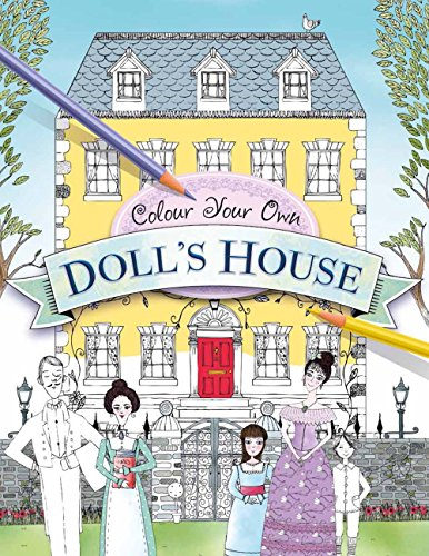 9781454922223: Color Your Own Doll's House