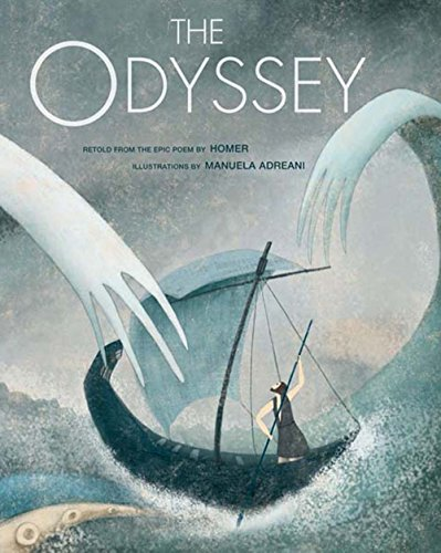 The Odyssey Format: Hardcover: Homer, illustrated by