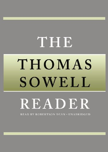 The Thomas Sowell Reader (Library Edition) (1455124818) by Thomas Sowell