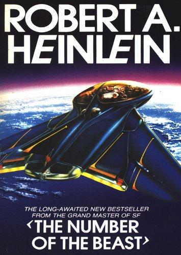 The Number of the Beast (Library Edition) (1455153737) by Robert A. Heinlein