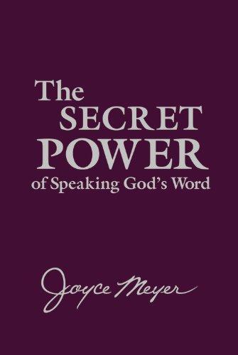 9781455506200: The Secret Power of Speaking God's Word