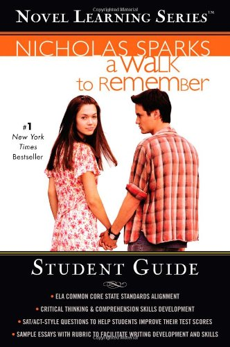 9781455508563: A Walk to Remember (Novel Learning Series)